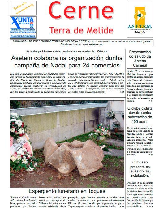 CERNE Nº 12 – XANEIRO 2006