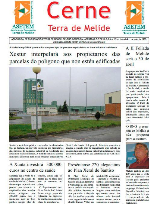 CERNE Nº 14 – ABRIL 2006