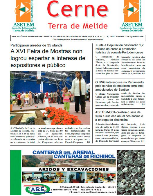 CERNE Nº 17 – XULLO 2006