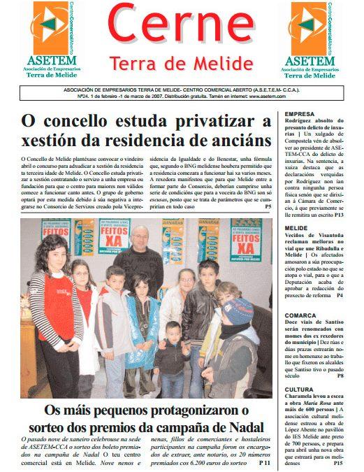 CERNE Nº 24 – FEBREIRO 2007