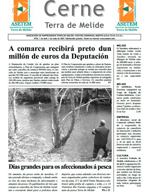 CERNE Nº 26 – ABRIL 2007