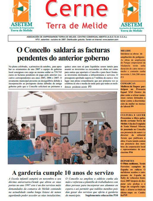 CERNE Nº 31 – OUTUBRO 2007