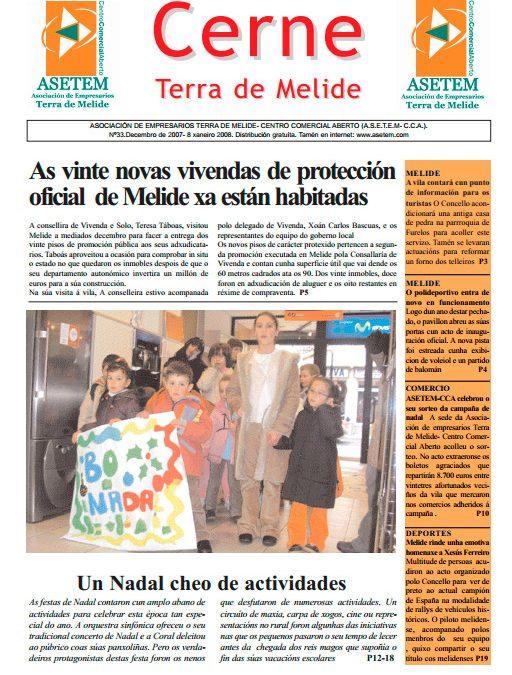 CERNE Nº 33 – DECEMBRO 2007