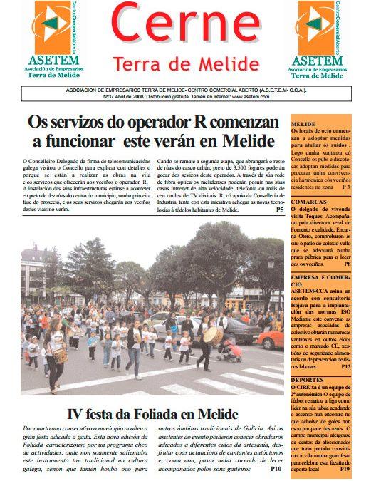 CERNE Nº 37 – ABRIL 2008