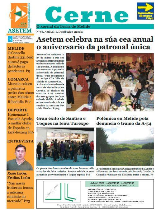 CERNE Nº 64 – ABRIL 2011
