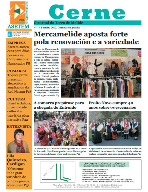 CERNE Nº 73 – FEBREIRO 2012