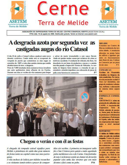 CERNE Nº 40 – XULLO 2008