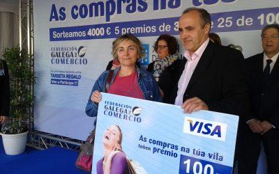 A campaña da Federación Galega de Comercio deixa en Melide uns ingresos estimados de 300.000 euros
