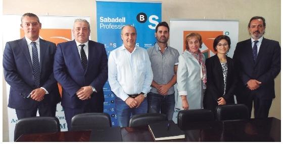 Asetem - CCA e Banco Sabadell asinan un convenio de colaboración