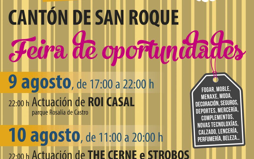 Mercamelide reúne a 23 comercios no cantón de San Roque o 9 e 10 de agosto