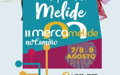 Chega a segunda edición do Mercamelide no Camiño os días 7, 8 e 9 de agosto