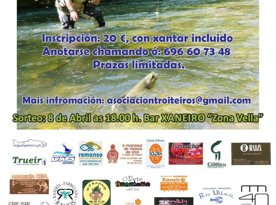 Mañá celébrase o XIV campionato de pesca con cebo artificial